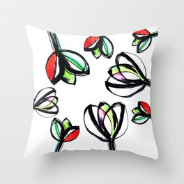 Spring 05 Throw Pillow