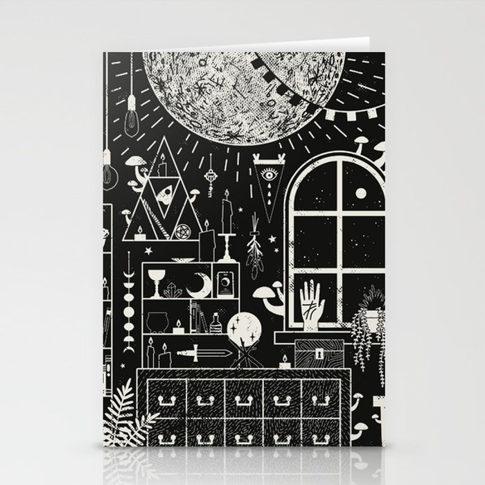 Moon Altar Stationery Cards