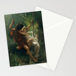 Springtime by Pierre-Auguste Cot 1873, French Stationery Cards