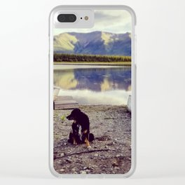 Alaska is Better with a Dog Clear iPhone Case