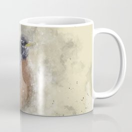 Rusty Robin Coffee Mug