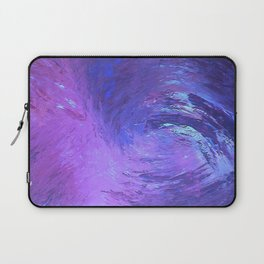 Abstract Blue Storm  by Robert S. Lee Laptop Sleeve