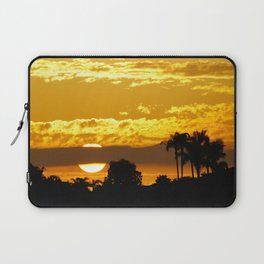 Telephoto Sunset in the Back Bay Laptop Sleeve