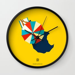 Summer's gone Wall Clock