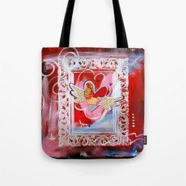 Shiny Happy Heart Tote Bag