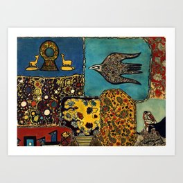 Hanuman Art Print