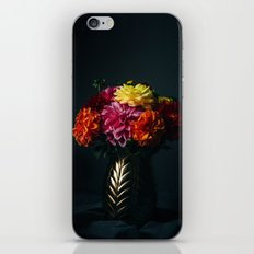 Dahlias Love. iPhone & iPod Skin