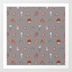 SWEET TOOTH pattern! Art Print