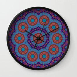 Mosaic Mandala Wall Clock