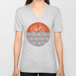i want to ride my bicycle Unisex V-Neck