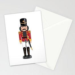 Christmas nutcracker soldier Stationery Cards