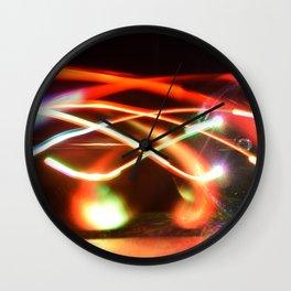Slow lights. Wall Clock
