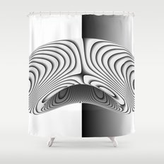 Organic Bean Shower Curtain