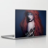 be brave Laptop & iPad Skins featuring Brave by Imustbedead