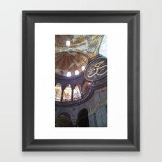 Hagia Sofia Framed Art Print