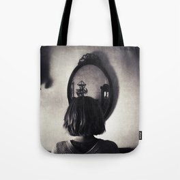 Face to Place Tote Bag