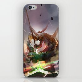 The Fight iPhone Skin
