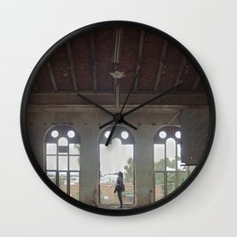 Circle light Wall Clock