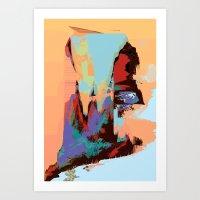 Pixelfunk Art Print