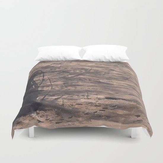 Zen Ink 3 Duvet Cover