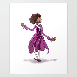 Thomas Jefferson, Ham. Musical Print Art Print