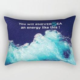 Ocean energy Rectangular Pillow