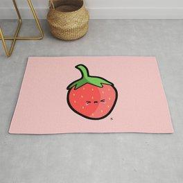Strawberry Kawaii Rug