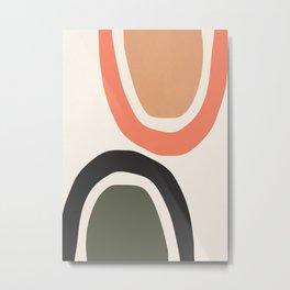 abstract minimal 22 Metal Print