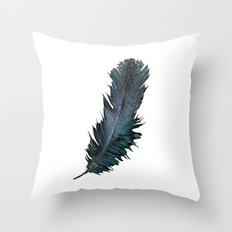 Feather - Enjoy the difference! Throw Pillow