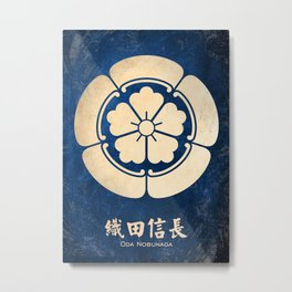 Oda Nobunaga kamon Metal Print