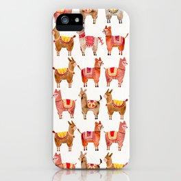 Alpacas iPhone Case