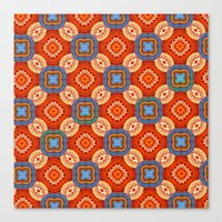 persian Canvas Prints featuring Persian Parlor by Peter Gross