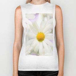 Daisy Flower Bouquet Pastel Color Background #decor #society6 #buyart Biker Tank
