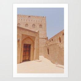Jabreen Castle in Bahla, Oman #2 Art Print
