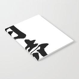 Naruto: Tsukuyomi (black) Notebook