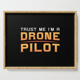 Drone Pilot Quadcopter Camera FPV Drones Gift Serving Tray
