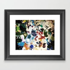 Bl ob Framed Art Print