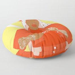 patron saint Floor Pillow