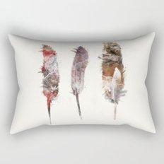 peace feathers Rectangular Pillow