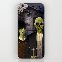 American Gothic Halloween iPhone Skin
