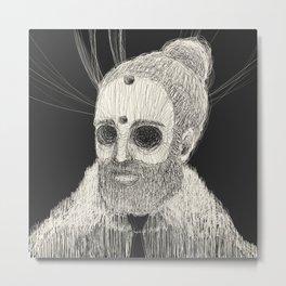HOLLOWED MAN Metal Print