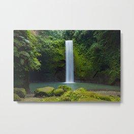 Tibumana Waterfall in Bali Metal Print