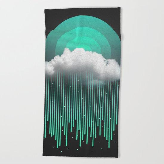 Rainy Daze Beach Towel