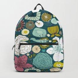 oriental blooms peacock Backpack