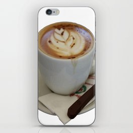 Americano Coffee Vector iPhone Skin