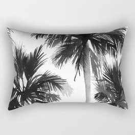 Paradis Noir VIII Rectangular Pillow