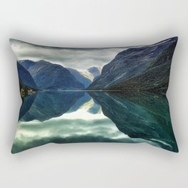 Mountains, Fjords and Glaciers - Norway Rectangular Pillow