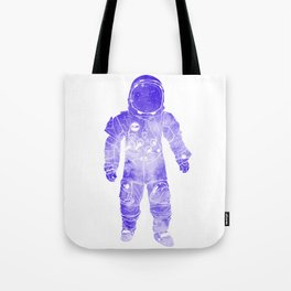 Rave Invaders PLUR Space Force Astronaut Tote Bag