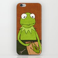 kermit iPhone & iPod Skins featuring Kermit by Sylvie R.