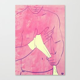Boxing Club 1 Canvas Print